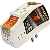Smart Plug High Low Voltage Cutout / Protector rated @ 16Amp with Surge Protection upto 4000 Volts.