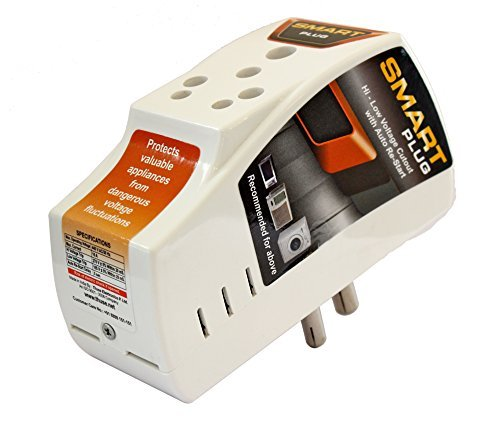Smart Plug 16Amp कम ज़्यादा वोल्टेज कटआउट सर्ज प्रोटेक्टर