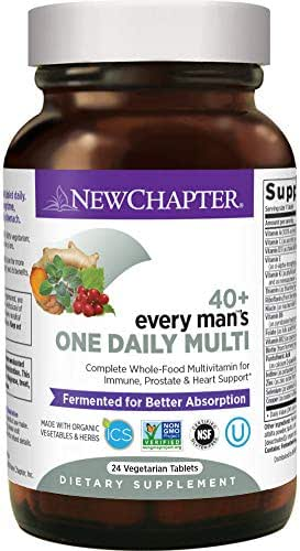 Multivitamins: New Chapter Every Man 40+