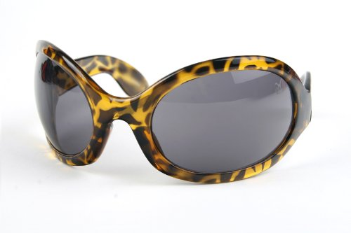 Pop Fashionwear Unisex Bug Eye Sunglasses Retro Rave Shades P501]()