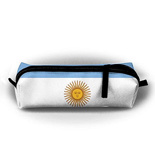 H2O Unisex Student Kid Argentine Flag 2018 World Soccer Cup 3D Printed Personalized School Zipper Pencil Bag Pen Case Girl's (H2o Football)