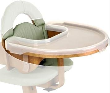 Amazon.com: Svan alta silla cubierta de la bandeja: Baby