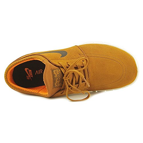 Nike Mens Stefan Janoski Max Mid Skate Scarpa Nocciola / Nero-avorio-argilla-orano