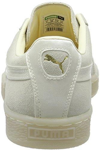 para Suede Satin Mujer Classic Zapatillas White 02 Gold Puma Wn's Whisper Blanco metallic 16Cnw
