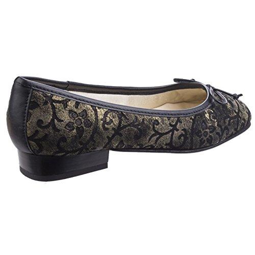 Chaussures Nicotta Talon Plat Cuir Court Femmes En 38 Ballerines Bellet Marine Bleu Riva RI5Tqwx