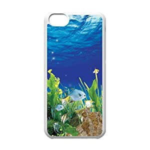 THE UNDERSEA WORLD CHA8038652 Phone Back Case Customized Art Print Design Hard Shell Protection Iphone 5C