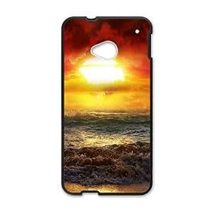 Beach HTC One M7 Cell Phone Case Black QD9335727