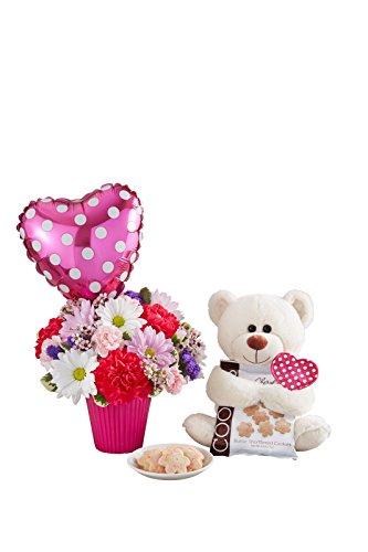 Orlando City Floral - Lotsa Love Sweetheart - Fresh and Hand Delivered - Orlando Area - Orlando Hand Bears