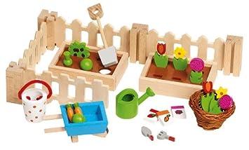 Goki 51729 Accessoire Poupee Petit Jardin Pour Les Maisons