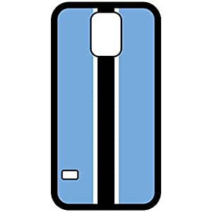 Botswana Flag Black Samsung Galaxy S5 Cell Phone Case - Cover