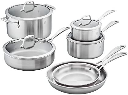ZWILLING J.A. Henckels 64090-001 FBA_64090-001 Stainless Steel Cookware Set