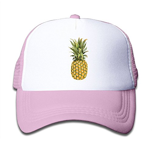 2121VNB58 PineappleUnisex-Toddler Adjustable Caps Mesh CapsTravel CapsPink For - Style Rogen Seth