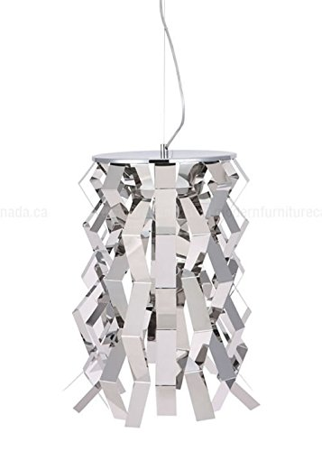 Zuo 50114 Fission Ceiling Lamp, Chrome