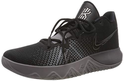 Nike Men Kyrie Flytrap Basketball High Top Sneakers from Finish Line,Black/Thunder Grey-Gunsmoke (US 13)