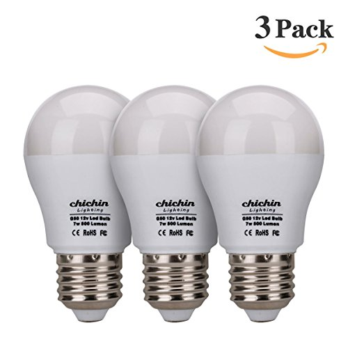 ChiChin Lighting 3 pack 12v led light bulb