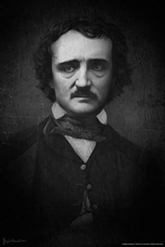 Edgar Allan Poe Portrait by Brigid Ashwood Art Print Poster 24x36 inch