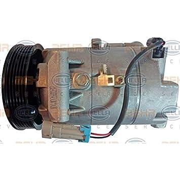 BEHR HELLA SERVICE 8FK 351 340-741 Compresor, aire acondicionado: Amazon.es: Coche y moto