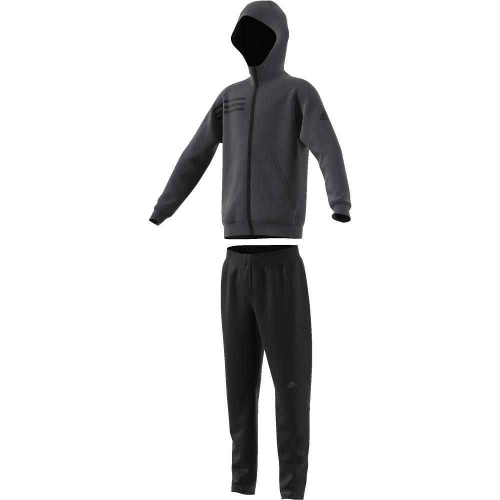 adidas Yb ID TS Chándal, Niños, Gris (Carbon/Negro), 140 (9/10 ...