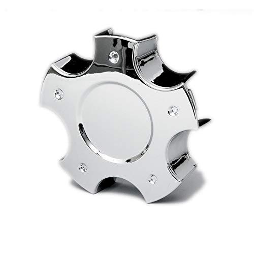 Eckler's Premier Quality Products 25-175509 - Corvette Wheel Center Cap Chrome C6 Z06 Style