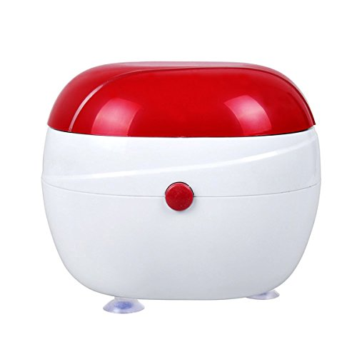 Mini Jewlery Cleaner Machine,Eflar Ultrasonic Vibration Washing Automatic Cleaner for Cleaning Necklaces