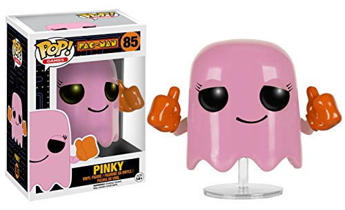 Funko POP Games: Pac-Man - Pinky Action Figure