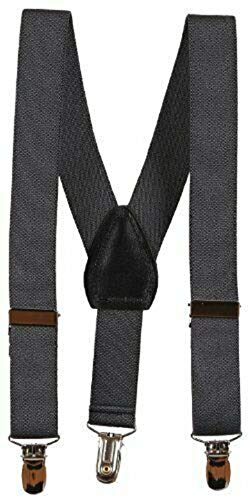 Gray Kids Toddlers Suspenders Fashion Boys Girls US Ship Free Size Tkmiss from Unknown