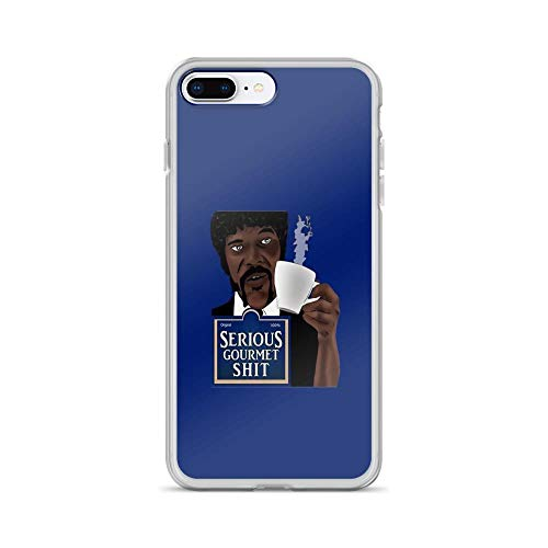 iPhone 7 Plus/iPhone 8 Plus Case Clear Anti-Scratch Serious Gourmet Shit Cover Phone Cases for iPhone 7 Plus iPhone 8 Plus -