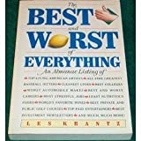 The Best and Worst of Everything, Krantz, Les, 0130263451
