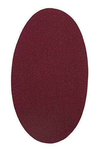 Haberdashery Online 6 rodilleras color Burdeos termoadhesivas de plancha. Coderas para proteger tu ropa y reparación de pantalones, chaquetas, ...