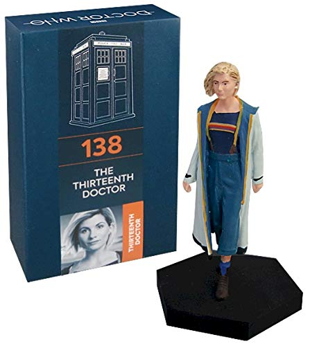 Official Licensed Merchandise Doctor Who Figurine Thirteenth Doctor Who Jodie Whittaker Hand Painted 1:21 Scale…