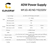 Cloudray 40W PSU Laser Power Supply 110V/220V for