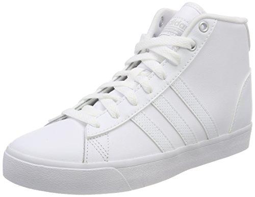 Baskets plamat 000 Mid Femme Daily Blanc ftwbla ftwbla Adidas Cloudfoam Qt Hautes ZIqx6q4F
