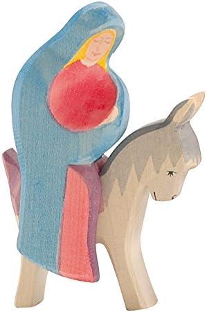 Ostheimer Mary On The Donkey Figurines Set Of 2