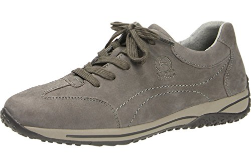 para 30 Gris 385 Piel Zapatos Gabor de 76 de cordones mujer WqT8UwSZRB