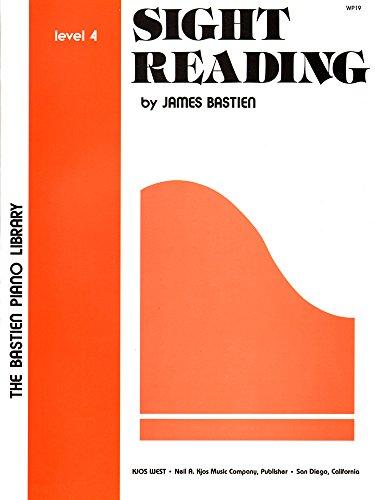 WP19 - Bastien Piano Library - Sight Reading Level 4