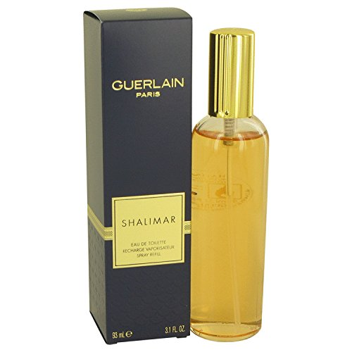 SHALIMAR by Guerlain Eau De Toilette Spray Refill 3.1 oz for Women - 100% Authentic Eau De Toilette Refill