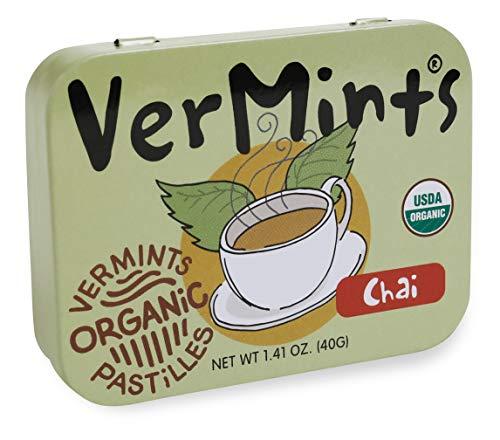 VerMints Organic Chai Pastilles, Six /1.4-oz ()