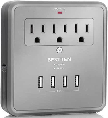 BESTTEN Protector Electrical Extenders Slide Out product image