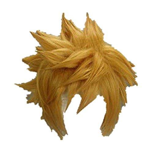 Kingdom Hearts II 2 1st Version Sora cosplay costume wig