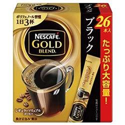 ネスレ日本 ネスカフェ ゴールドブレンド スティック ブラック (2g×26P)×12箱入×(2ケース) B07HGNZTC1