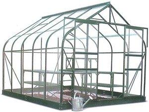 Chalet Jardin - Serre de jardin verre trempe et aluminium 11.4m2 ...