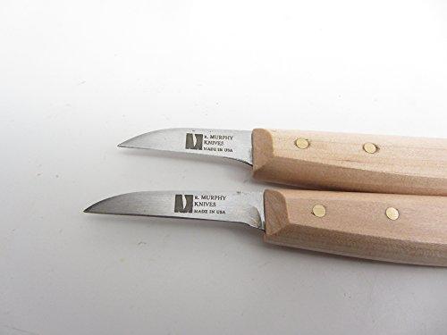 2 Murphy Chip Carving Knife Basket Weaving Tool Carving Handles Ribs Rims Reed