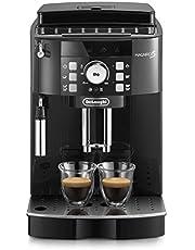 De'Longhi Magnifica S ECAM21.110.B Macchina da Caffè Automatica per Espresso e Cappuccino, Caffè in Grani o in Polvere, 1450 W, Nero