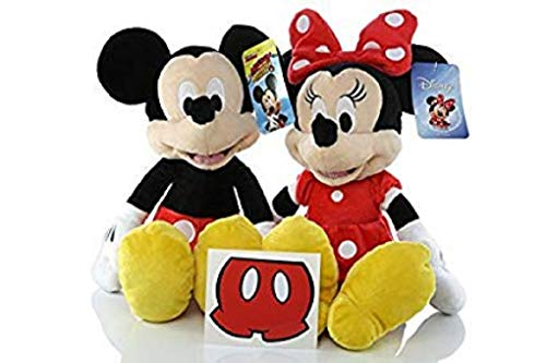 Minnie Mouse Mickey Mouse Plush Doll Disney - 15 inch -