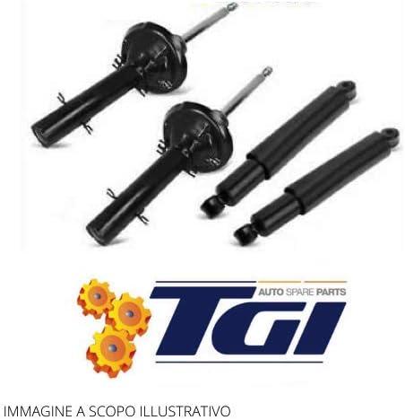 FIAT PUNTO 188 DAL99 AL 2012 DOPPIO TUBO A GAS 4 AMMORTIZZATORI ANT.E POST TGI