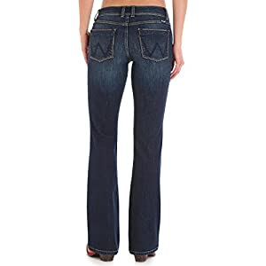 Wrangler Women's Retro Sadie Low Rise Stretch Boot Cut Jean