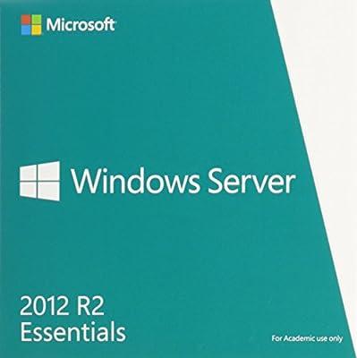 Microsoft Windows Server Essentials 2012 R2 64 Bit English Academic Edition DVD