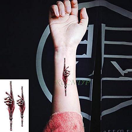 ljmljm 5pcs Impermeable del Tatuaje de la Mariposa Pegatinas ...