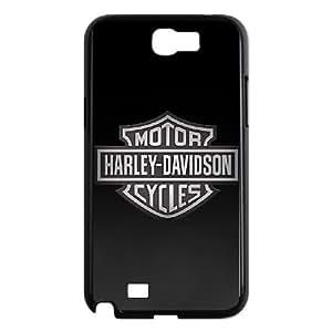Vqbi Samsung Galaxy N2 7100 Cell Phone Case Black Harley Davidson