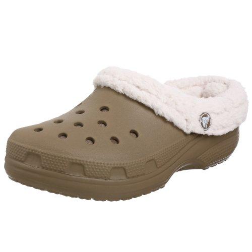 crocs Unisex Mammoth Clog,Khaki/Oatmeal,Men's 9 M/Women's 11 M Mammoth Clogs